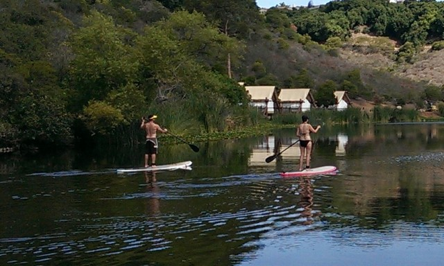 Paddle boarding is now allowed at Lake San Marcos.