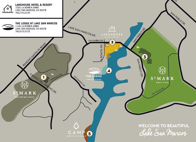 Lake San Marcos Map